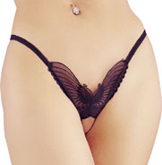 Open Butterfly G-String